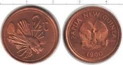 Папуа - Новая Гвинея 2 тойя, 1990