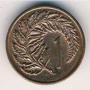 Новая Зеландия, 1 цент 1967