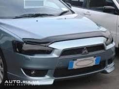 Дефлектор капота. Mitsubishi Lancer X