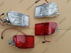 LED стопы фонари в задний бампер Toyota Prado 120 / SURF 215. Toyota Hilux Surf Toyota Land Cruiser Prado