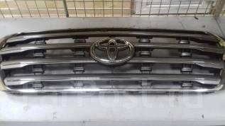 Решетка радиатора. Toyota Land Cruiser, VDJ200, GRJ200, UZJ200 Двигатели: 1VDFTV, 1GRFE, 2UZFE