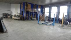 Сдам производственное помещение под авторемонт, склад. 377 кв.м., улица Лермонтова 5а, р-н Трудовое