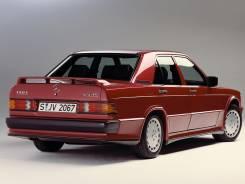 Стекло боковое. Mercedes-Benz 190