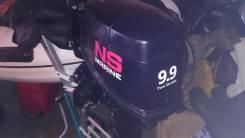 Nissan Marine NM9.9D2. 9,90л.с., 2х тактный, бензин, нога L (508 мм), Год: 2016 год