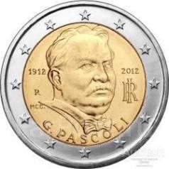2 евро Италия 2012 Пасколи