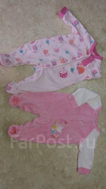 Одежда для новорожденных. Рост: 50-60, 60-68, 68-74 см