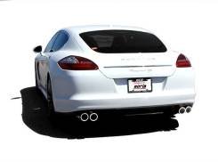 Выхлопная система. Porsche Panamera