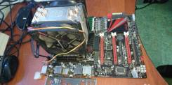Core i7-990X Extreme 3.46 GHz + Мат. плата + озу