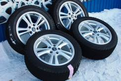 136991 Отличный комплект колес EuroSpeed с зимними шинами 215/55/17. 7.0x17 5x114.30 ET38. Под заказ