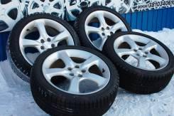"""136975 Отличный комплект колес Subaru c """"Жирными"""" шинами 215/45/17. 7.0x17 5x100.00 ET55"""