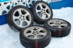 137017 Subaru оригинал R17 c зимними шинами 205/55/17. x17 5x100.00 ET53