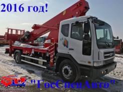 Horyong. Автовышка Daewoo Novus 7 тонн SKY 400S 2016год!, 5 890 куб. см., 40 м.