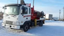 Hyundai Mega Truck. Продам ямобур Kanglim на шасси , 5 500 кг.