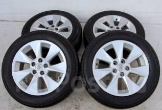 Колёса с шинами =Toyota= R17! 2014 год! Протектор 7 мм! (№ 50980). 7.0x17 5x114.30 ET33