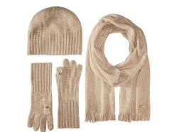 Шапка, шарф и перчатки. 55-59