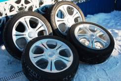 137606 Красивый комплект колес R17, только из Японии. 7.0x17 5x100.00, 5x114.30 ET50