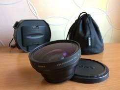 Обьектив Sony VCL - HG0758 для видеокамер Sony и Canon. Для Видеокамер Sony, Canon, диаметр фильтра 58 мм