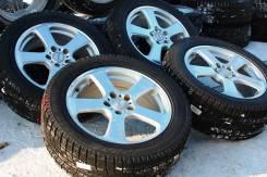 138308 Отличнейший комплект колес Rozest с практически новыми шинами. 7.0x17 5x114.30 ET48