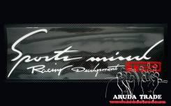 Оракал на кузов Sports mind Racing Development TRD, бело-красный. Toyota Sports