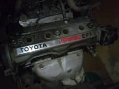 Двигатель. Toyota Sprinter Carib, AE95 Двигатель 4AFE