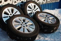 138419 хороший комплект оригинальных колес Toyota Alphard c зим шинами. 7.0x17 5x114.30 ET45