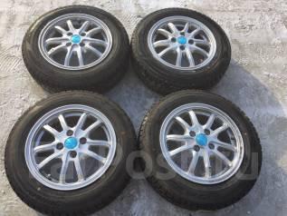 165/70 R14 Dunlop DSX-2 литые диски 4х100. 5.5x14 4x100.00 ET47