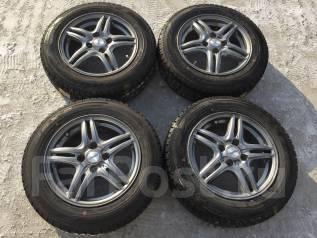 165/70 R14 Dunlop DSX-2 литые диски 4х100. 5.5x14 4x100.00 ET48