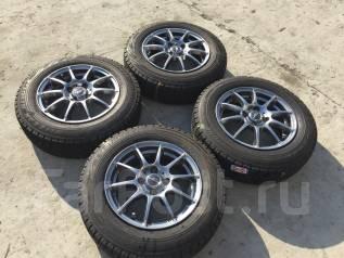 175/70 R14 Bridgestone Revo GZ литые диски 4х100. 5.5x14 4x100.00 ET48