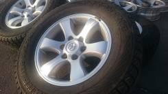 Toyota Land Cruiser Prado. 7.5x17, 6x139.70, ET25, ЦО 110,0мм.