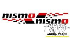Оракал на кузов Nismo парные, черно-красные - 2шт. Nissan