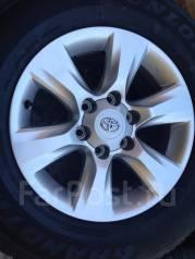 Toyota Land Cruiser Prado. 7.5x17, 6x139.70, ET25