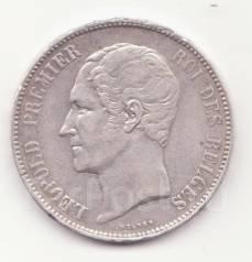 5 франков 1865 Леопольд Бельгия