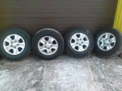 Продам комплект зимних колес Bridgestone ICE Cruizer 7000. 8.0x17 5x150.00 ET60 ЦО 110,5мм.
