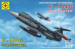 Модель Сверхзвуковой истребитель F-104G Старфайтер (Россия)
