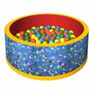 """Сухой бассейн с шариками """"Веселая поляна"""""""