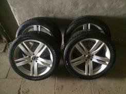 RAYS Versus с резиной Bridgestone Potenza. 8.5/8.5x19 5x114.30 ET35/41 ЦО 71,1мм.