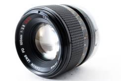 Фотообъектив Canon FD 100mm F2.8 S. S. C. Для Через переходник для современных фотоаппаратов со сменной оптикой