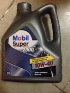 Mobil. Вязкость 10W-40, полусинтетическое