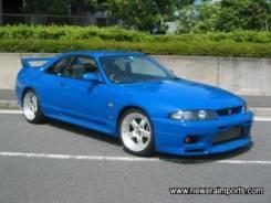 Крыло. Nissan GT-R Nissan Skyline, HR33, ENR33, BCNR33, ECR33 Двигатели: RB25DE, RB25DET, RB20E