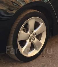 Срочно! Комплект шин Goodyer 215/45/17 + штатное Литье Prius 30 R17. x17 3x98.00, 5x100.00