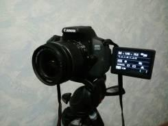 Canon EOS 650D Kit. 15 - 19.9 Мп, зум: 3х