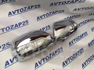 Накладка на зеркало. Toyota Land Cruiser Prado, GRJ120, GRJ120W, KDJ120, KDJ120W, KZJ120, LJ120, RZJ120, RZJ120W, TRJ120, TRJ120W, VZJ120, VZJ120W Lex...