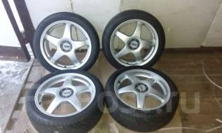 Комплект летних колес 215/45 R17. 7.0x17 4x114.30, 5x114.30 ET47 ЦО 72,0мм.