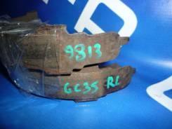 Тормозной механизм Nissan Laurel GC35, левый задний