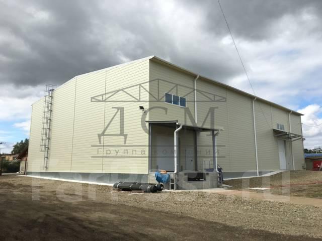 Строительство складов, зданий и сооружений.