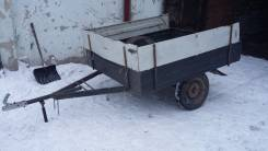 КМЗ 8136. Прицеп бортовой кмз, 750 кг.