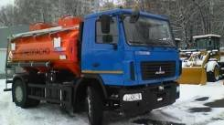 АТЗ Т-4. Бензовоз на шасси МАЗ-5340В2 (АТЗ,11 м3, 2 отсека, Евро-4), 2 000 куб. см., 11,00куб. м.