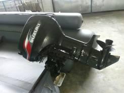 Suzuki. 40,00л.с., 2х тактный, бензин, нога S (381 мм), Год: 2011 год