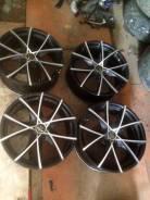 Sakura Wheels. 7.5x17, 5x114.30, ET-44