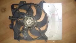 Вентилятор охлаждения радиатора. Peugeot 207, WB, WA, WC Двигатель EP6 EP6C